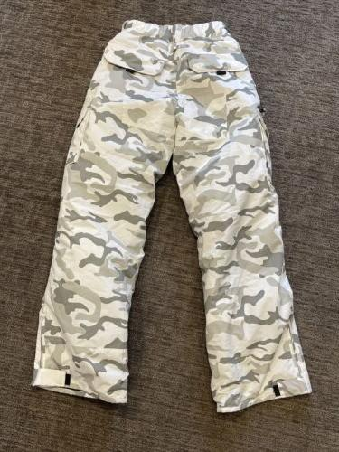 Pulse White Camouflage Ski/Snow Pants
