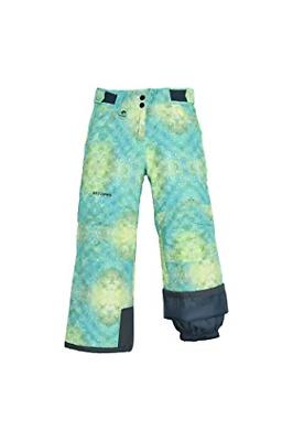 youth reinforced snow pants x small ombre