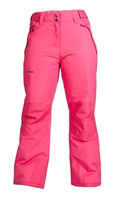 Arctix Youth Snow Pants with Reinforced Knees and Seat, Fuch