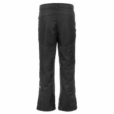 Lucky Bums Youth Snow Ski Pants with Knees Black, X-Large