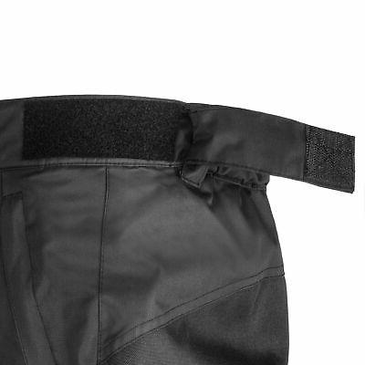 Lucky Bums Youth Ski Pants with Knees and Seat, Black, X-Large
