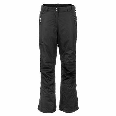 youth snow ski pants with reinforced knees