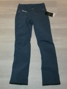luxe womens rarity ski pants blue 2