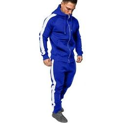 Connia Men Long Sleeve Sport Tracksuit Autumn Winter Zipper