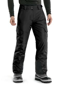 TSLA Men's Winter Snow Pants, Insulated Ski Pants, Windproof