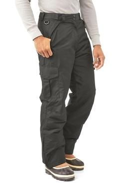 Swiss Tech Men's Double Cargo Ski Pants, Size M