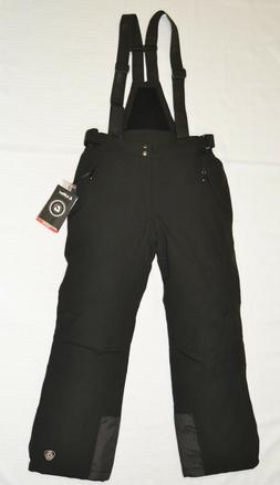 Men's KILLTEC Gauror Insulated Ski Pants BLACK w/ Removable