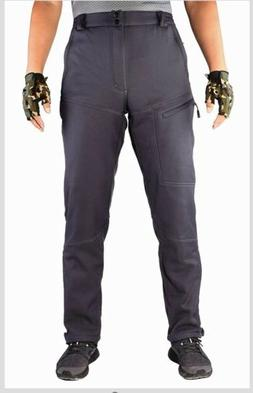 FFNIU Men's Ski Hunting Hiking Fleece Lined Pants Water And