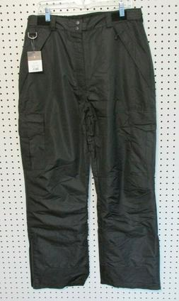 Swiss Tech Men's Ski Pant, Black, Size Medium