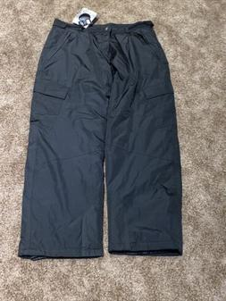 CB Sports Men's Ski Pants Size 2XL Black All Weather Water R