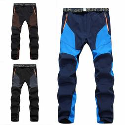 Men's Waterproof Warm Snow Ski Snowboard Pants Outdoor Hikin