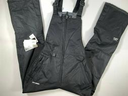 Mens Arctix Insulated Black Bib Overalls Snow Ski Pants NEW!