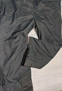 mens ski snowboard pants snow gray size