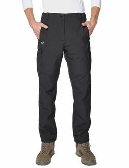 Baleaf Men's Snow Ski Hiking outdoor Pants fleece warm Car