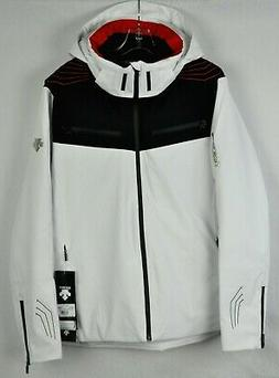 Descente Mens Swiss Ski Team Snow Jacket DWM-MGK10 Spr White