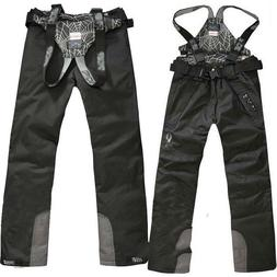 Mens Waterproof Ski Pants Overalls Snow Trousers Outdoor Spo