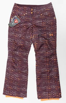 NEW $160 Women's Under Armour Insulated Snow Ski Skiing Pant