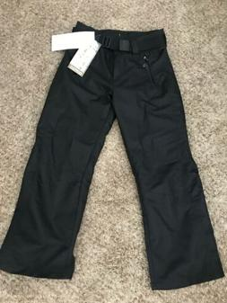 NEW $199 Obermeyer Womens Insulated Snow Pants Size 6 Black