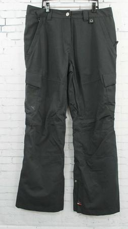 New 2017 Bonfire Mens Kane Ski and Snowboard Pants Large Bla