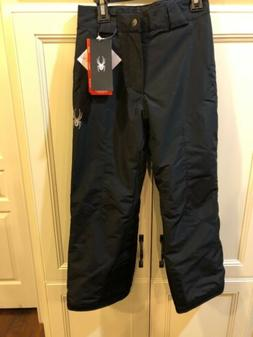 New Spyder Boys' Siege Insulated Pants  Kid's Small Black