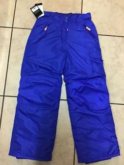New Boys CHAMPION Sz LG 12/14 Ski Snow Pants Wind & Water Re