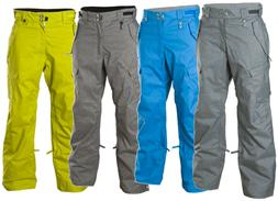 NEW 686 CONTINUUM SNOW PANTS Men's M-L-XL Ski Snowboard $235