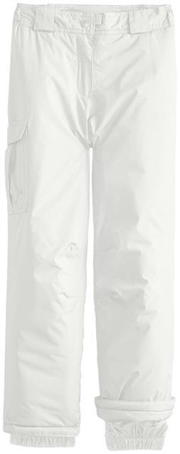 NEW White Sierra Girls Cruiser Insulated Pants Ski Snowboard