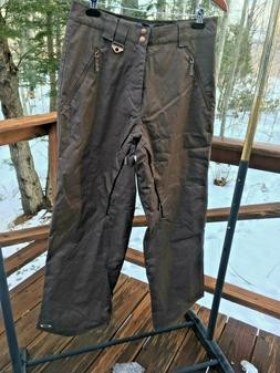 NEW Oakley Men's S Loose Fit Brown Fully Lined Ski Snowboard