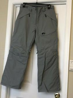 New Mens The North Face HyVent SKI Pants Size M Grey Snow Sn