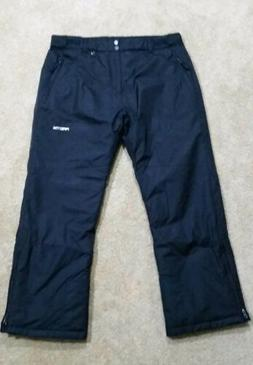 NEW Arctix Mens Insulated Ski Snow Board Pants Black 3K Shel