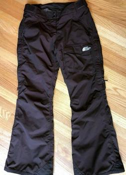 NEW North Face Women's Ski Snowboard Winter Pants Brown Hy