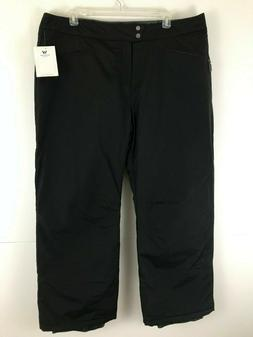 NEW White Sierra Women 3X Black Slider Pant Insulated Waterp