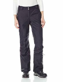 New Columbia Women Bugaboo OMNI-HEAT Ski Snow Pants Black SH