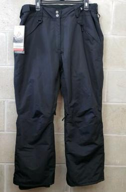 New Pulse Womens 1X Rider Ski Insulated Snow Pants Black $12