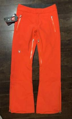 New Spyder Womens Traveler Burst Orange Vented Ski Snowboard