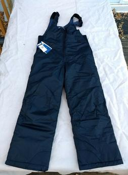 NWT White Sierra, Insulated Bib Ski Pants, Black, Youth Larg
