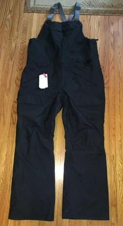 NWT Men's The North Face Rarig Bib Snow / Ski Pants Black Si
