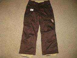 NWT NEW Sims Men's Snowboarding Pants Skiing Outdoors Brown