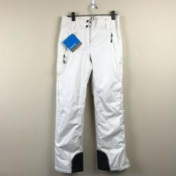 NWT Columbia Size XS Omni Heat Ski Pants Winter Snow White