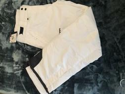NWT ARTIX WHite INSULATED WATERPROOF WOMENS SNOW PANTS   Sz