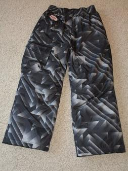 NWOT Zeroxposur Winter Ski Snow Pants Gray & Black Geo Patte