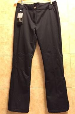 NWT Women's Nils Dominique Ski Pant color Black size 12