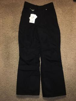 NWT Women's Slalom Insulated Snow Ski Pants Medium Black NEW