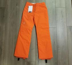 NWT WOMENS SPYDER SIZZLE ORANGE 150958 SNOW SKI PANTS SIZE 6