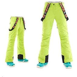APTRO Pants Women's Ski With Suspender Windproof Waterproof