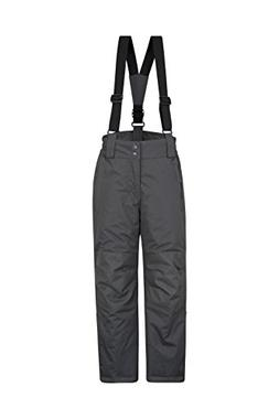 Mountain Warehouse Raptor Kids Snow Pants - Detachable Suspe