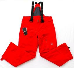 Spyder Red Dare Athletic Fit Snowboard Ski Insulated Snow Pa