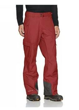COLUMBIA Ridge 2 Run Omni-Tech Snow Ski Pants RED Omni-Heat