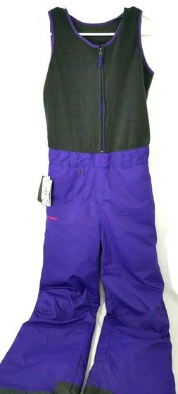 Arctix Ski Bib Overalls Youth Infiniti Fleece Bib Pants Purp