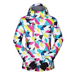 YLZH Women's Ski Jackets and Pants Winter Outdoor Mountain